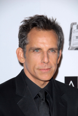 arrives for the 26th American Cinematheque Award Honoring Ben Stiller