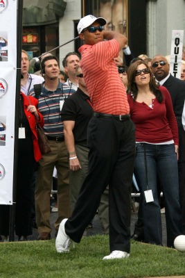 """at the EA Sports """"Tiger Woods PGA Tour 07"""" video game launch. Grauman's Chinese Theatre, Hollywood, CA. 10-10-06"""